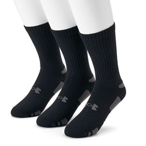 Men's Under Armour 3-pack Heatgear Performance Training Crew Socks