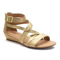 Croft & Barrow® Women's Ortholite Strappy Sandals