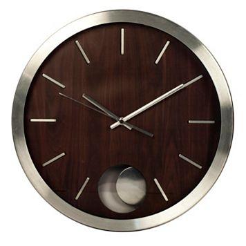 Metal Pendulum Wall Clock