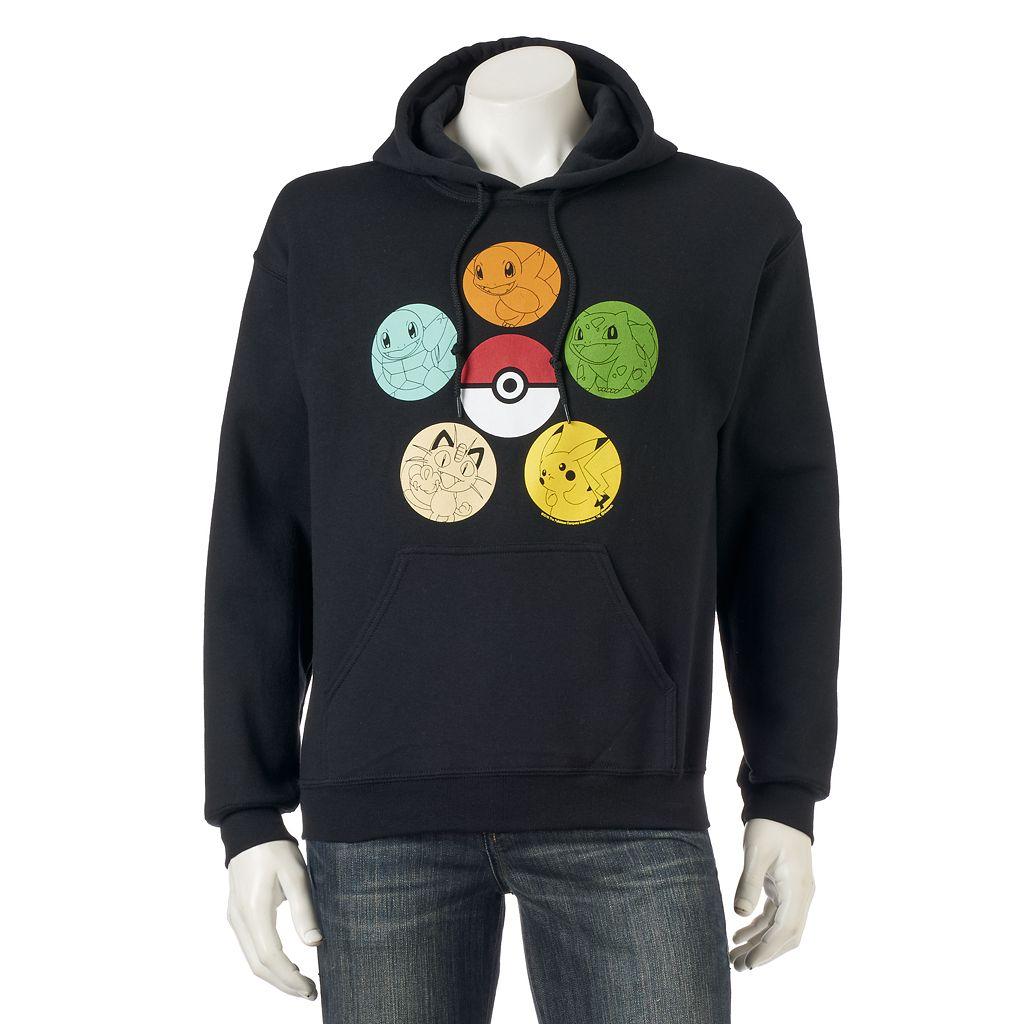 Men's Pokemon Pullover Hoodie