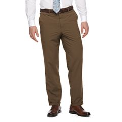 Men's Croft & Barrow® True Comfort 4-Way Stretch Classic-Fit Flat-Front Dress Pants
