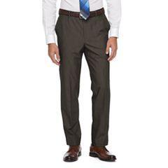 Men's Croft & Barrow® True Comfort 4-Way Stretch Classic-Fit Flat-Front Dress Pants