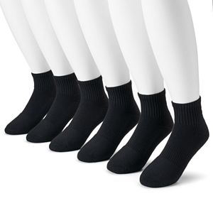 bb9235b1968 Men s Under Armour 6-pack Charged Cotton 2.0 Performance Crew Socks