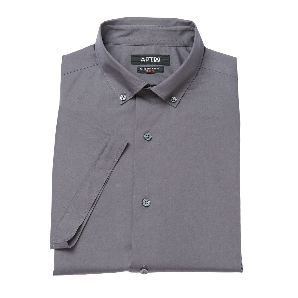 Apt. 9® Slim-Fit Stretch Button-Down Collar Dress Shirt