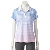 Women's FILA SPORT® Reflective Trim Golf Polo