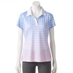 Women's FILA SPORT® Reflective Trim Golf Polo