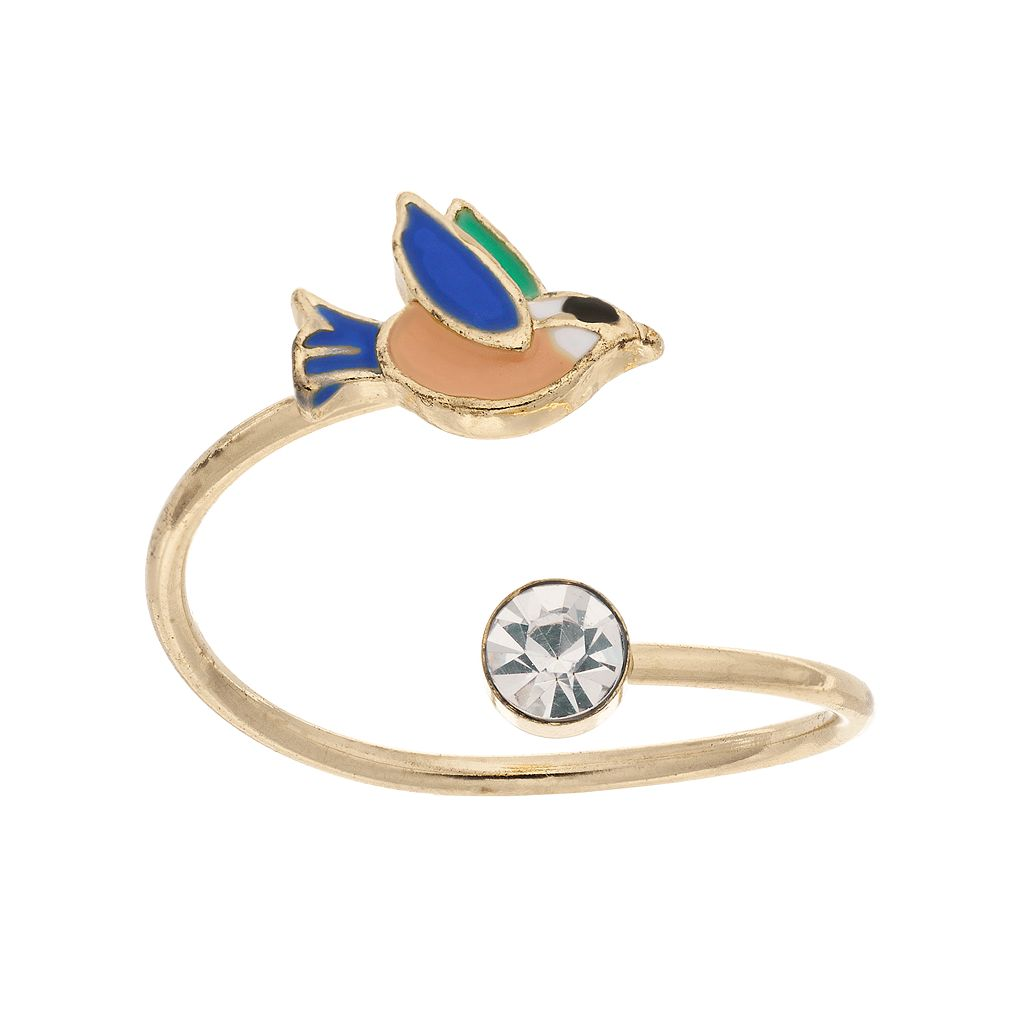 LC Lauren Conrad Bird Open Ring