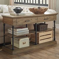 HomeVance Cresthill 2-Drawer TV Stand