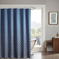 Madison Park Moris Jacquard Shower Curtain