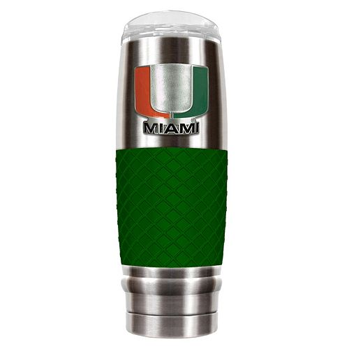 Miami Hurricanes 30-Ounce Reserve Stainless Steel Tumbler