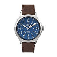 Timex Men's Expedition Scout 43 Leather Watch