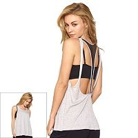 Women's Jezebel Weekend Warrior Cutout Racerback Tank Top