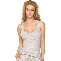 Women's Jezebel French Terry Ruffled Racerback Tank
