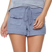 Women's Jezebel Ruffle Trim French Terry Shorts