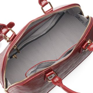 Deluxity 2-in-1 Eva Dome Satchel with Wallet