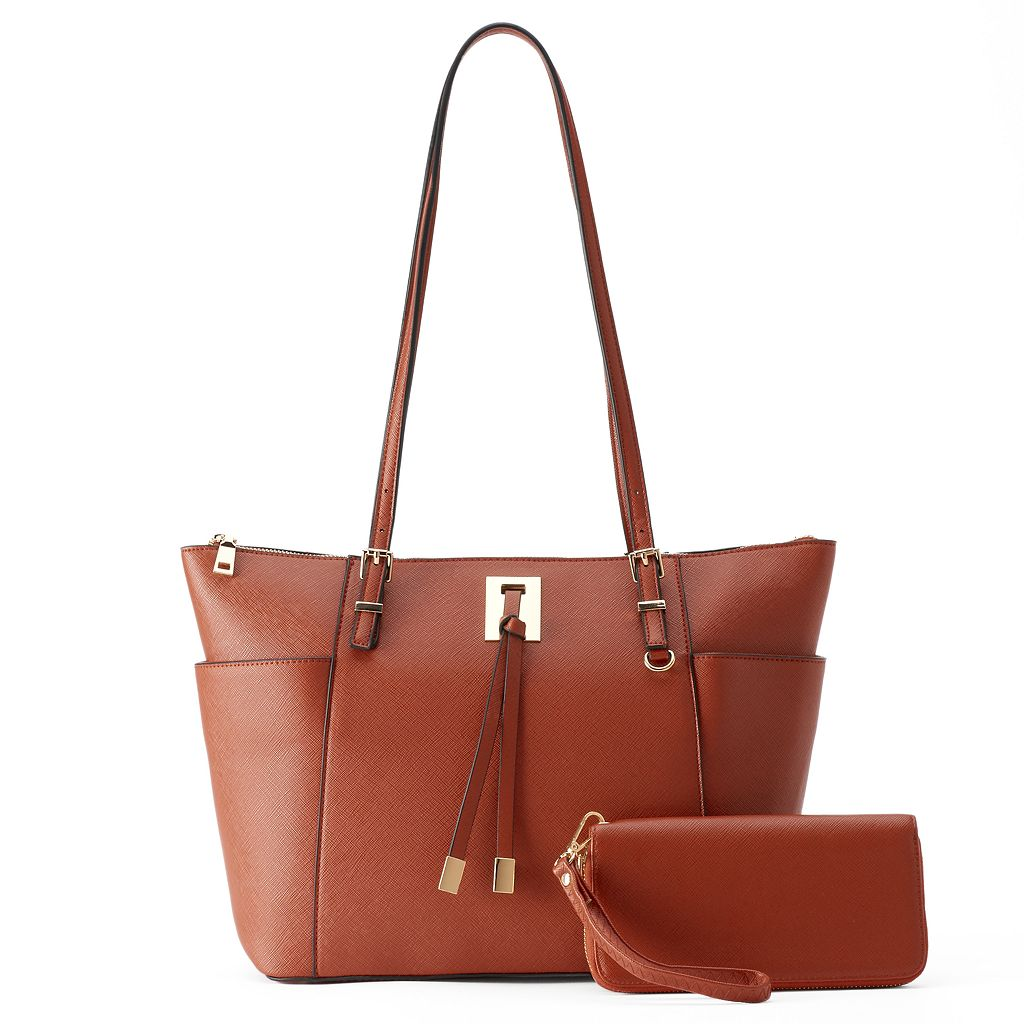 Deluxity Farrah Tote with Wallet