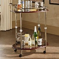 HomeVance Maude Serving Bar Cart