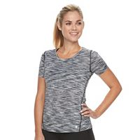 Petite Tek Gear® Space-Dyed Performance Tee
