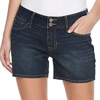 Women's Apt. 9® Faded Jean Shorts