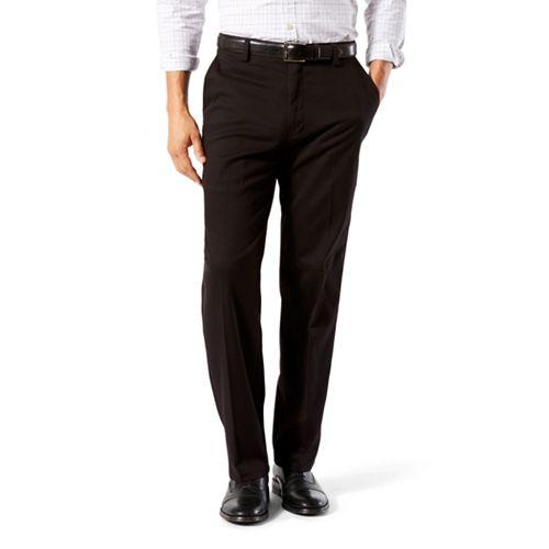 Dockers Mens Easy Khaki Stretch D3 Classic-Fit Flat-Front Pant