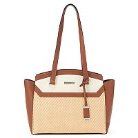 Chaps Jacey Straw Tote