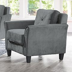 Hardy Curved Arm Chair