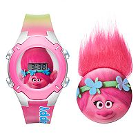DreamWorks Trolls Poppy Kids' Digital Light-Up Watch & Pin Set