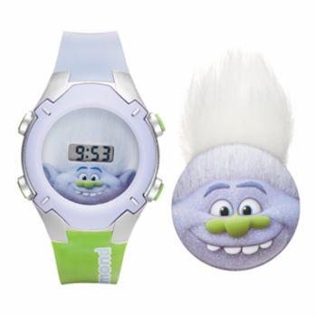 DreamWorks Trolls Guy Diamond Kids' Digital Light-Up Watch & Pin Set