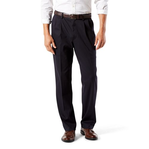 1035664506 Men s Dockers® Stretch Easy Khaki D3 Classic-Fit Pleated Pants