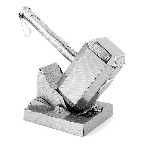 Marvel Avengers Thor's Hammer (Mjolnir) Metal Earth 3D Laser Cut Mode Kit by Fascinations