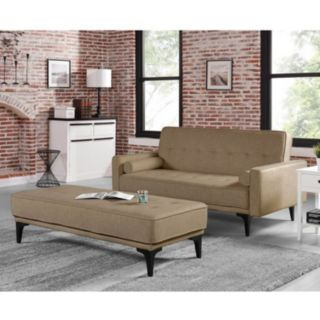 Serta Ivy Sofa & Ottoman 2-piece Set