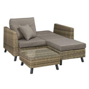 Milo Modular Lounger Patio Sofa