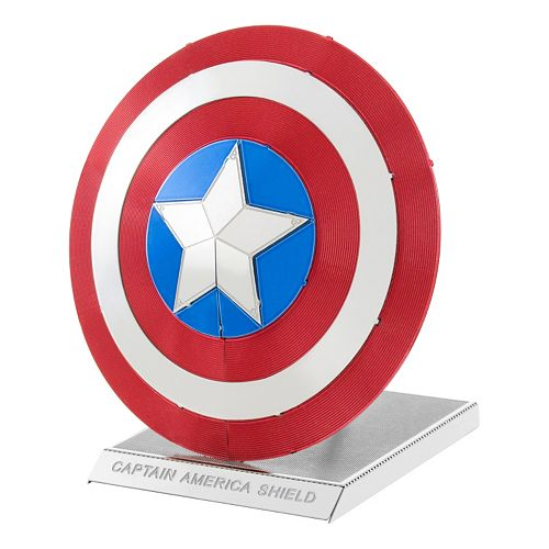 Marvel Avengers Captain America's Shield Metal Earth 3D Laser Cut Mode Kit by Fascinations