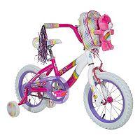 Youth Care Bears Cheer Bear 14-Inch Wheel Bike with Training Wheels