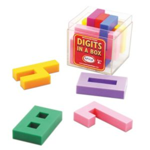 Digits in a Box by Popular Playthings