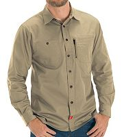 Men's Red Kap Classic-Fit MIMIX Button-Down Work Shirt