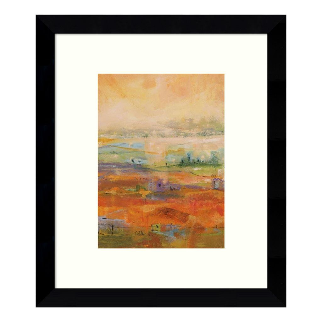 Country Village II Framed Wall Art
