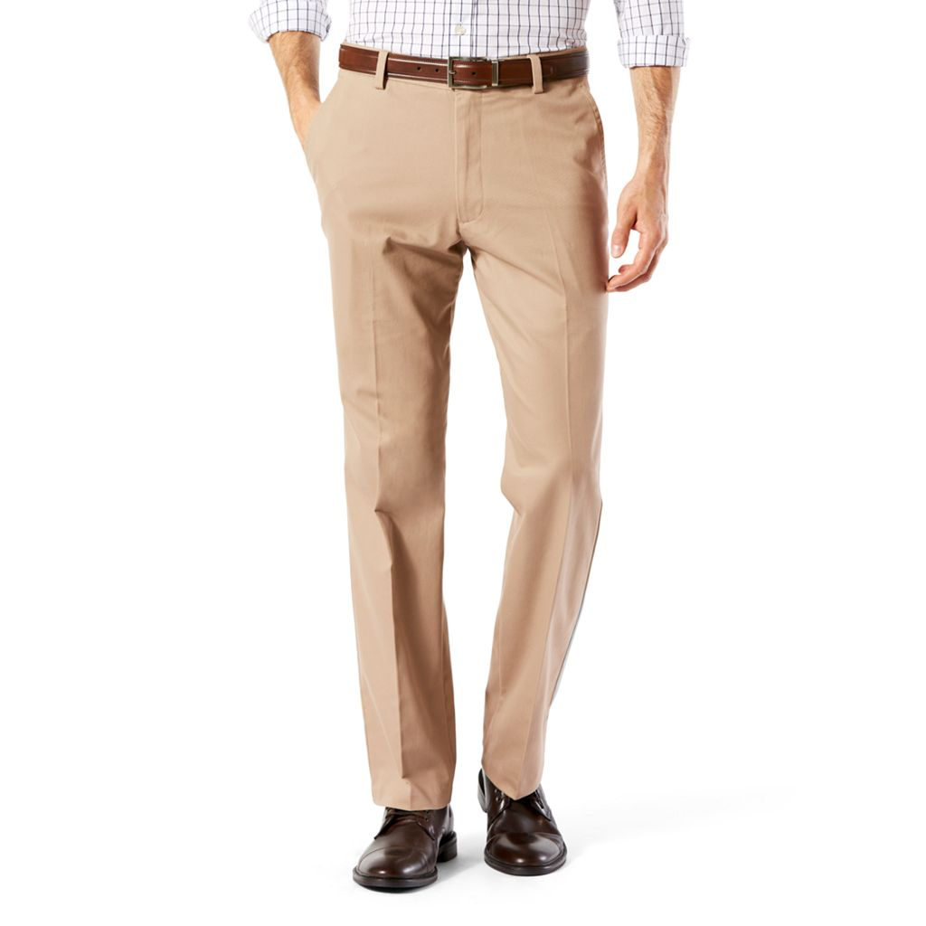 Men's Dockers® Stretch Easy Khaki D2 Straight-Fit Flat-Front Pants