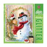 Letters to Frosty 500-pc. Holiday Glitter Puzzle by MasterpiecesPuzzles