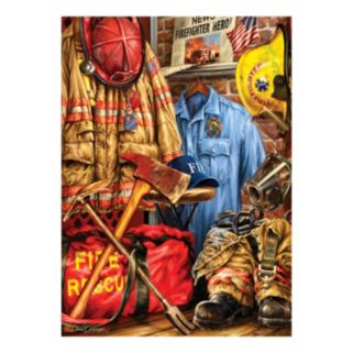 Fire and Rescue 1000-pc. Hometown Heroes by MasterpiecesPuzzles