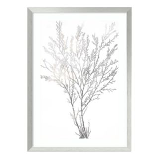 Algae I Metallic Print Framed Wall Art