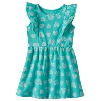 Baby Girl Jumping Beans® Flutter Pom Dress