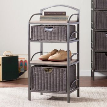Jacobs 2-Drawer Storage Tower