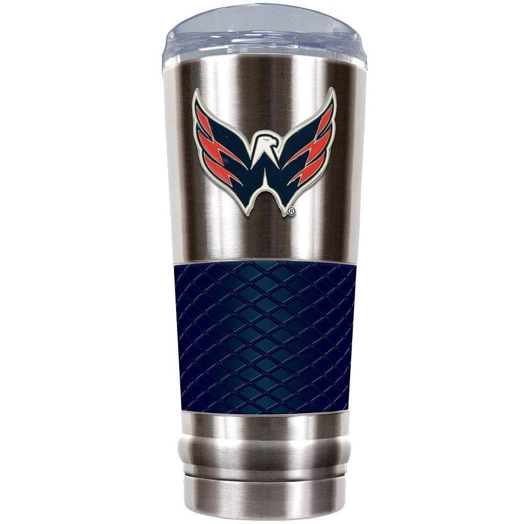 Washington Capitals 24-Ounce Draft Stainless Steel Tumbler