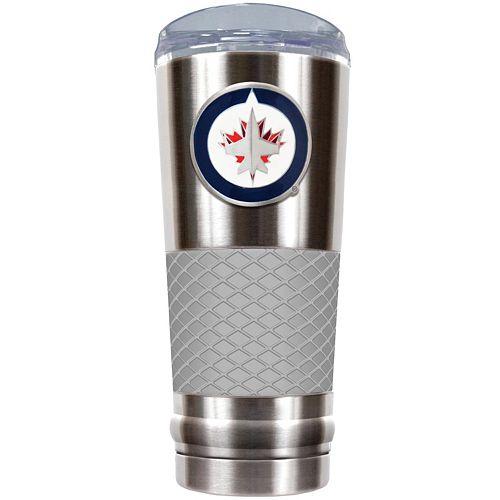 Winnipeg Jets 24-Ounce Draft Stainless Steel Tumbler