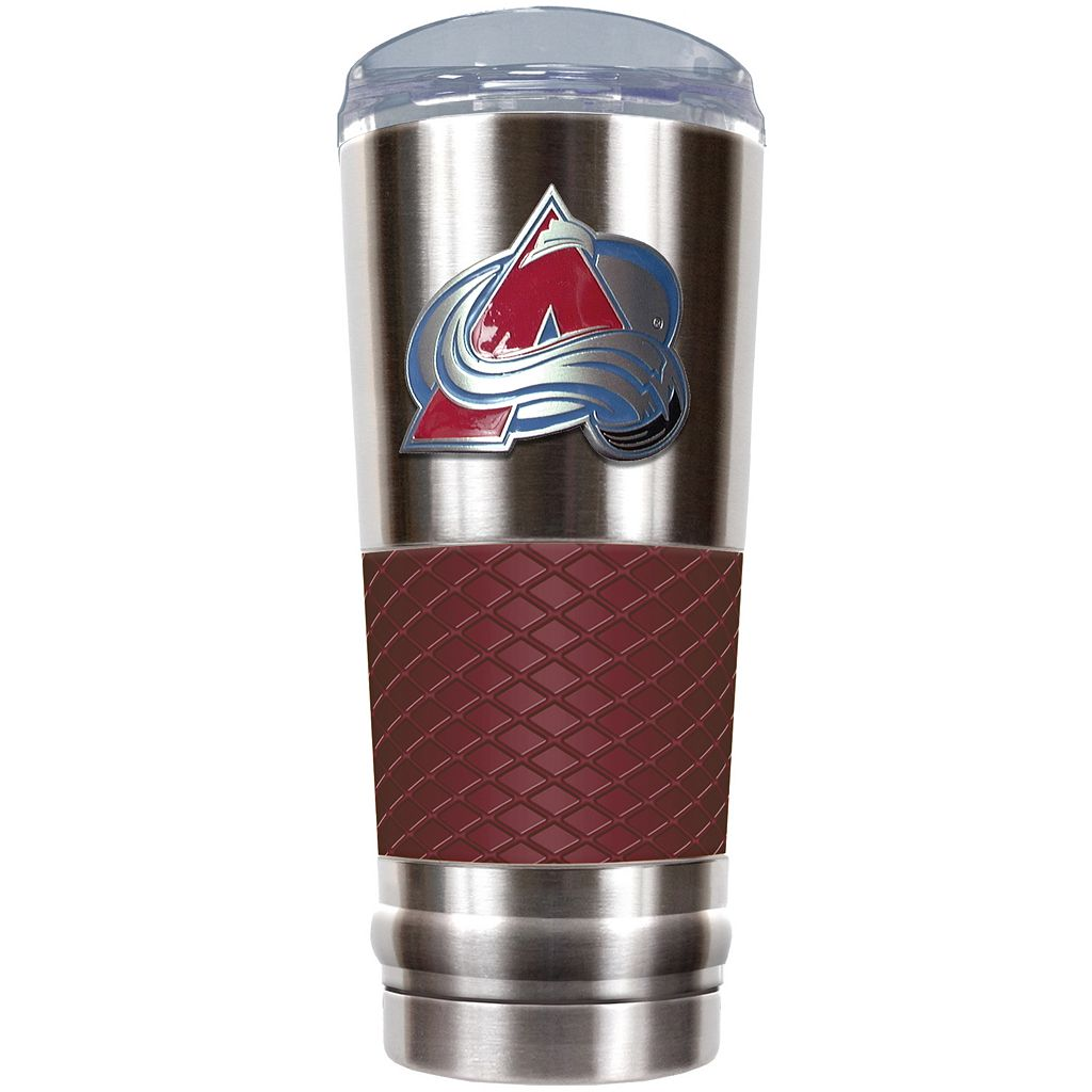 Colorado Avalanche 24-Ounce Draft Stainless Steel Tumbler