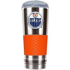 Edmonton Oilers 24-Ounce Draft Stainless Steel Tumbler