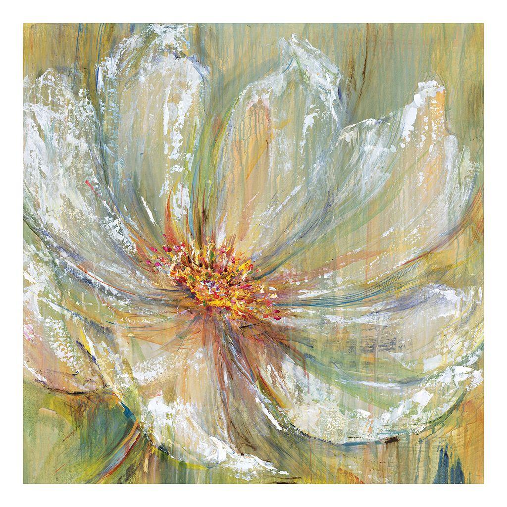 Celadon Splash I Canvas Wall Art
