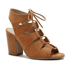 Rampage Emmie Women's High Heel Ankle Boots