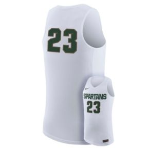 Men's Nike Michigan State Spartans Rep Basketball Jersey